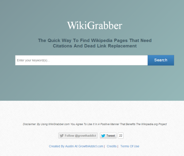 WikiGrabber by Austin Lilley